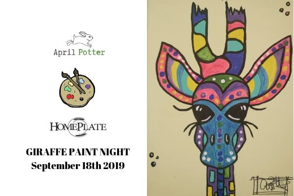 Cobourg Paint Night Sept 18