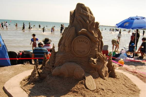 Cobourg Sandcastle Festival 2019 - Photo Gallery
